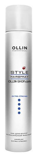 Лак для волос экстрасильной фиксации   OLLIN Professional