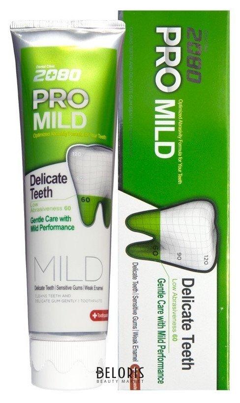 Зубная паста Мягкая Защита для чувствительных зубов и десен Dental Clinic 2080