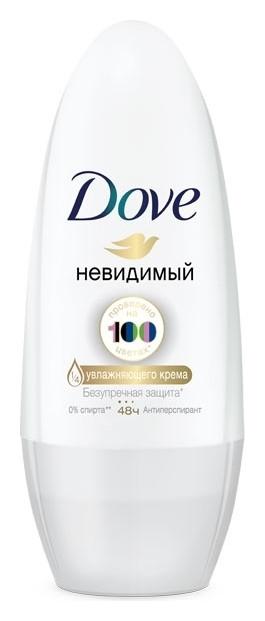 """Дезодорант роликовый """"Невидимый""""  Dove"""