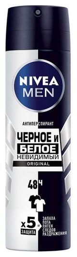 Дезодорант-аэрозоль Невидимый для черного и белого  Nivea