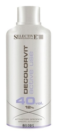Купить Эмульсия для волос Selective, Специальный активатор 12% Decolor Vit Active Use, Италия