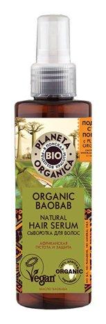 Сыворотка для волос Organic baobab  Planeta Organica