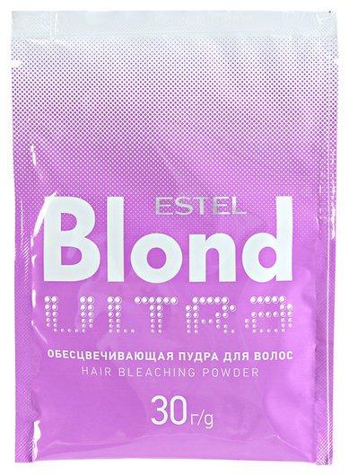 """Обесцвечивающая пудра для волос """"Ultra Blond""""  Estel Professional"""