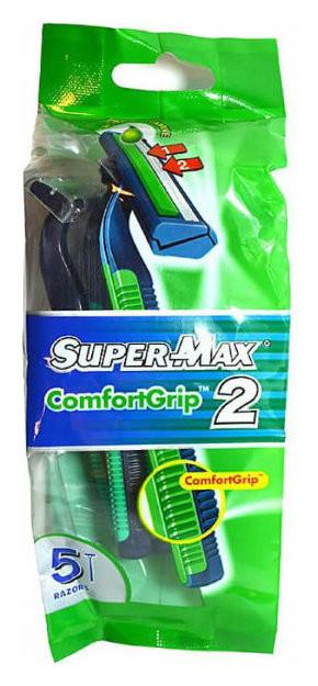 Одноразовые станки с тройным лезвием COMFORT GRIP  Super Max
