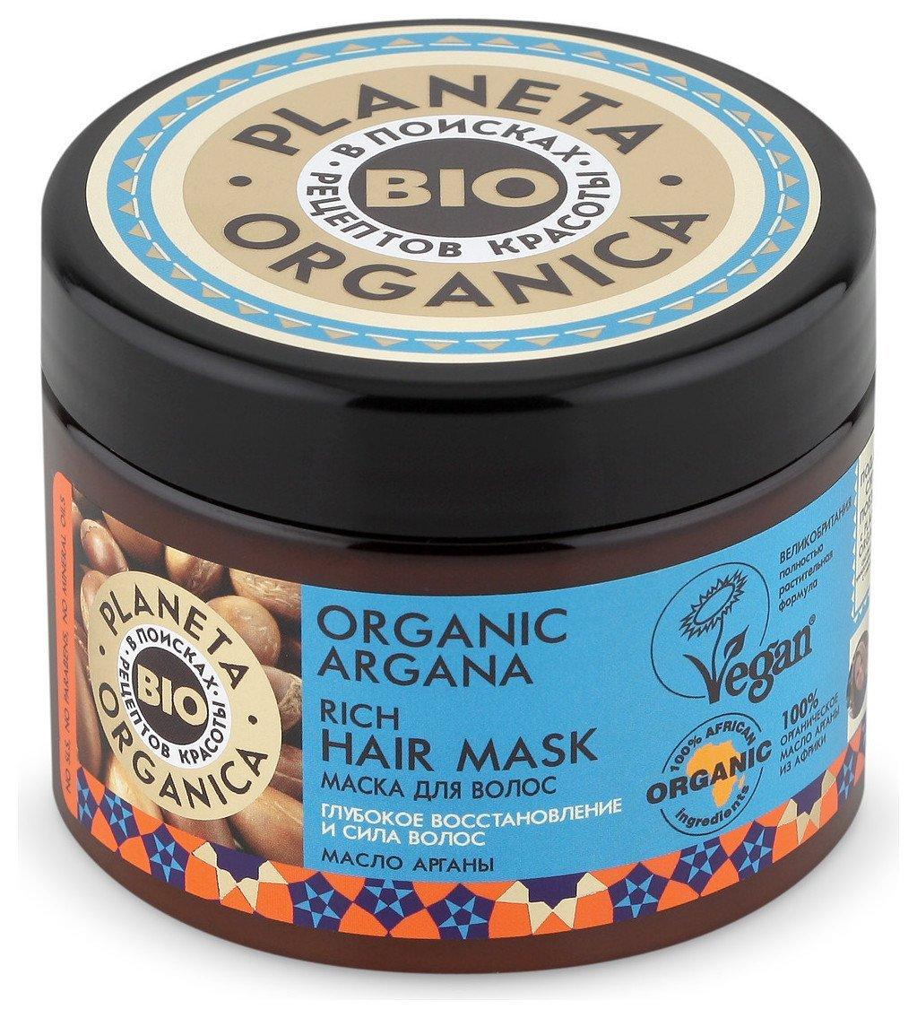 Густая маска для волос Organic argana  Planeta Organica
