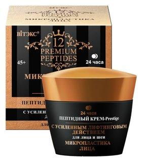 Крем-Prestige для лица и шеи пептидный с усиленным лифтинговым действием 24ч. Белита - Витэкс