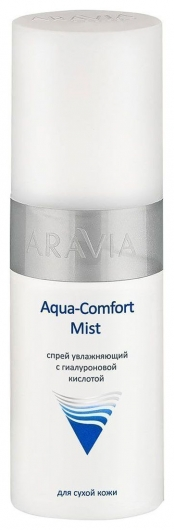 Спрей увлажняющий с гиалуроновой кислотой Aqua Comfort Mist  Aravia Professional