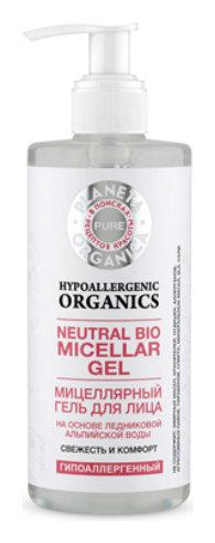 Мицеллярный гель для ухода за кожей лица Pure Свежесть и комфорт  Planeta Organica