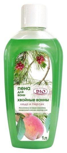 """Пена для ванн """"Кедр и персик""""  Северная жемчужина"""