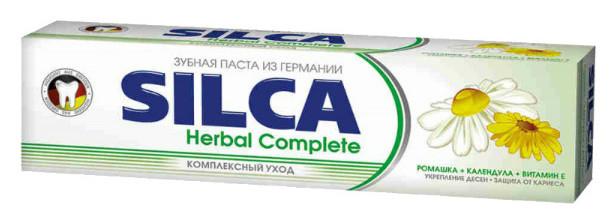 Зубная паста комплекс-уход Herbal Complete  SILCA