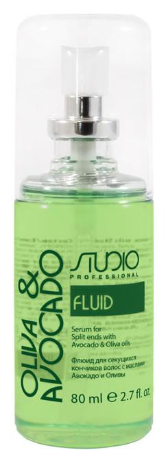Флюид для секущихся кончиков волос с маслами Авокадо и Оливы  Kapous Professional