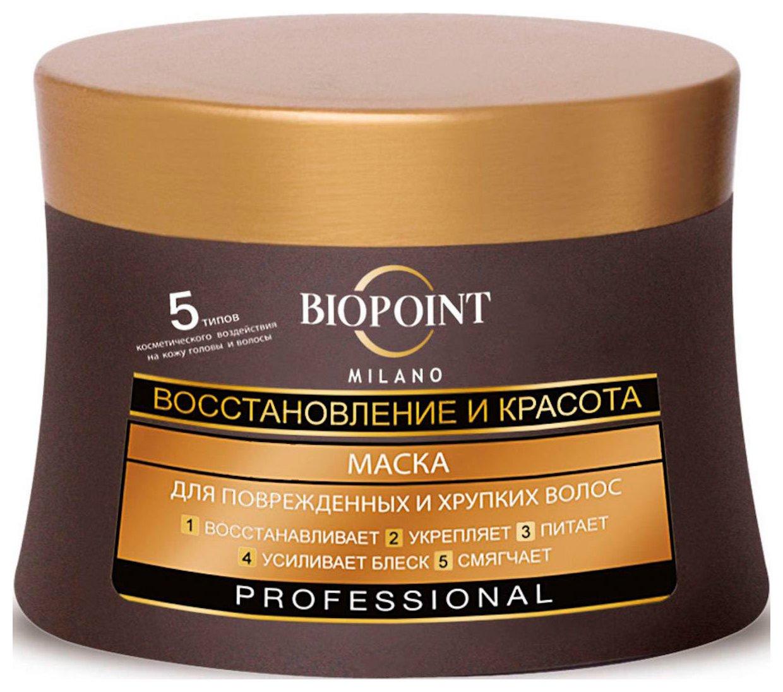 Маска «Восстановление и красота» для поврежденных и хрупких волос  Biopoint