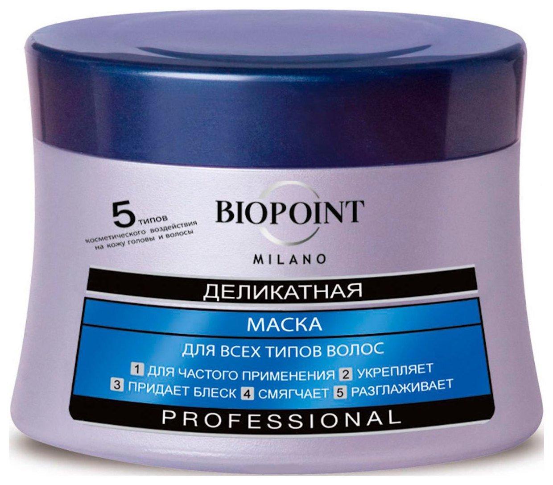 Маска «Деликатная» для всех типов волос  Biopoint