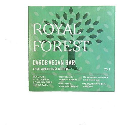Веганский шоколад из обжаренного кэроба  Royal Forest
