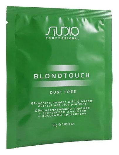 """Обесцвечивающий порошок с экстрактом женьшеня и рисовыми протеинами """"Dust free""""  Kapous Professional"""