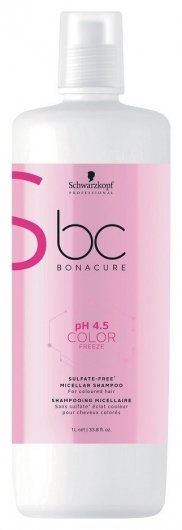 Шампунь Мицеллярный Бессульфатный Freeze Sulfate-Free Micellar Shampoo  Schwarzkopf Professional
