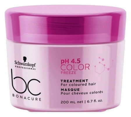 Маска для окрашенных волос Bonacure pH 4.5 Color Freeze Treatment  Schwarzkopf Professional