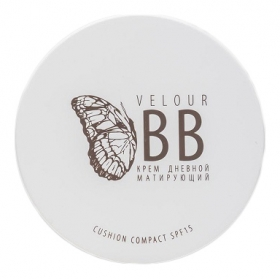 Крем-кушон матирующий Velour BB SPF15
