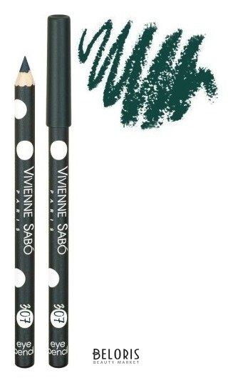 Купить Карандаш для глаз Vivienne Sabo, Карандаш для глаз Crayon Contour des Yeux Merci , Швейцария, Тон 307 Темно-зеленый