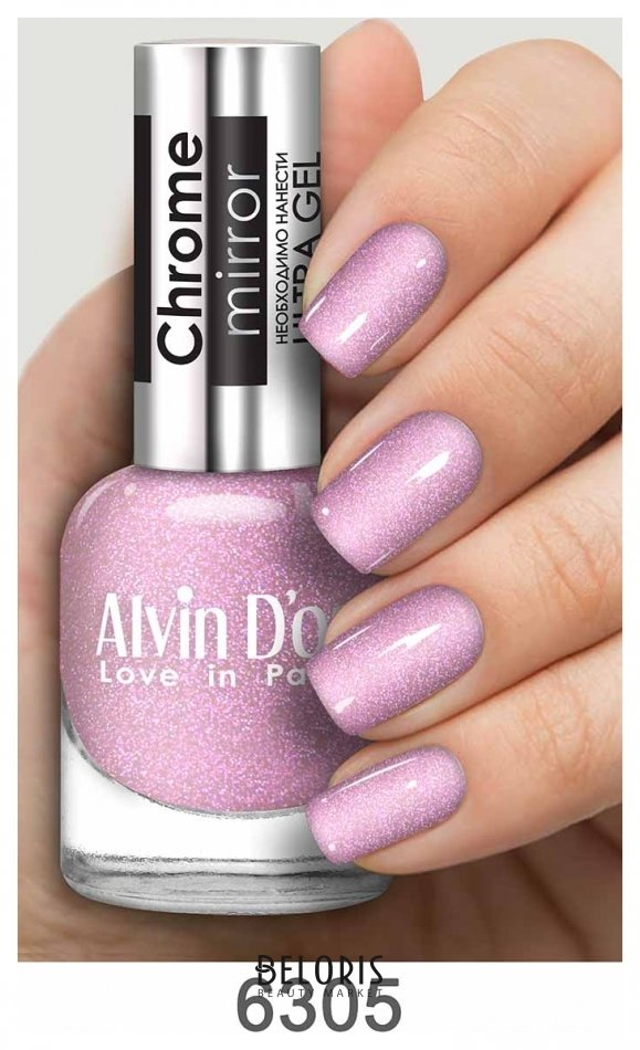 Купить Лак для ногтей Alvin D'or, Лак для ногтей Chrome Mirror , Россия, Тон 6305