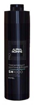 Тонизирующий шампунь с охлаждающим эффектом ALPHA HOMME