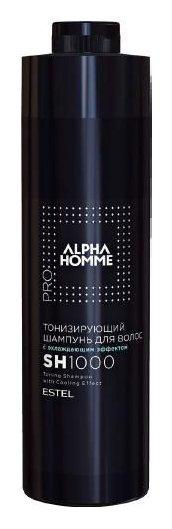 Тонизирующий шампунь с охлаждающим эффектом ALPHA HOMME  Estel Professional