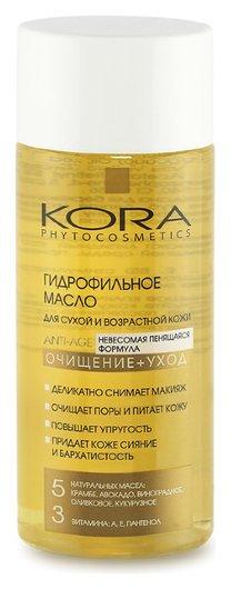 Гидрофильное масло для сухой и возрастной кожи Kora Phytocosmetics Hydrophilic Anti Age Oil  Kora