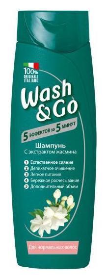 Шампунь с экстрактом жасмина для нормальных волос  Wash & Go
