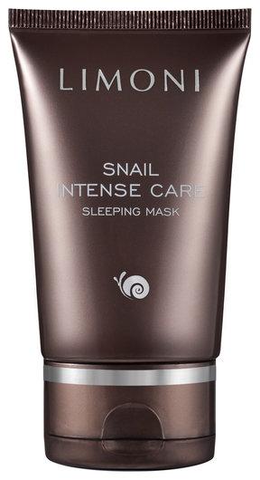 Интенсивная ночная маска с экстрактом секреции улитки Snail Intense Care Sleeping Mask  Limoni