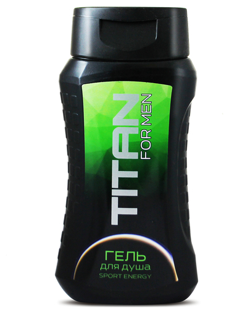 Гель для душа Sport Energy  SANATA cosmetics