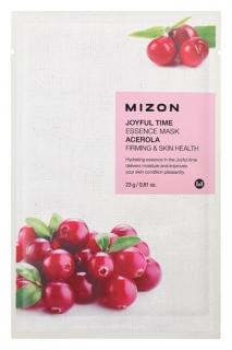 Маска для лица тканевая с экстрактом барбадосской вишни Joyful Time Essence Mask Acerola  Mizon