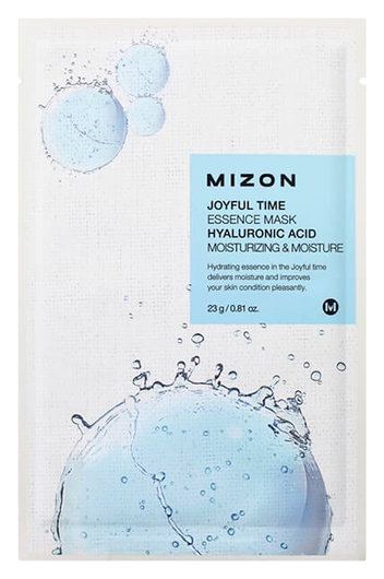 "Тканевая маска для лица ""Joyful Time Essence Mask - Hyaluronic Acid""  Mizon"