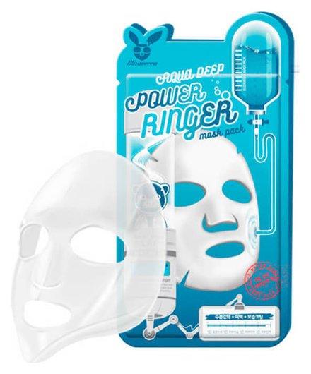 Тканевая маска Aqua Deep Mask Pack Elizavecca Power Ringer