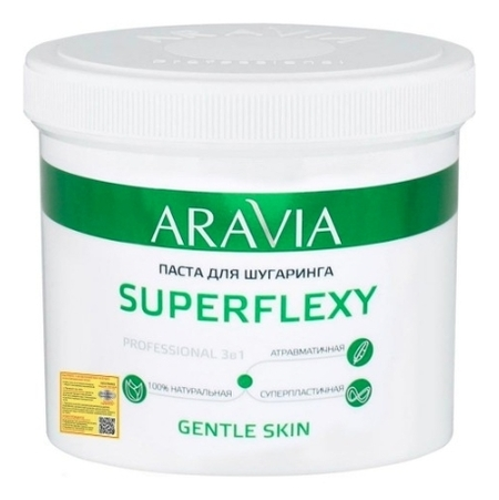 "Паста для шугаринга ""SUPERFLEXY Gentle Skin""  Aravia Professional"