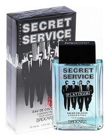 """Туалетная вода """"Secret Service Platinum""""  Brocard"""