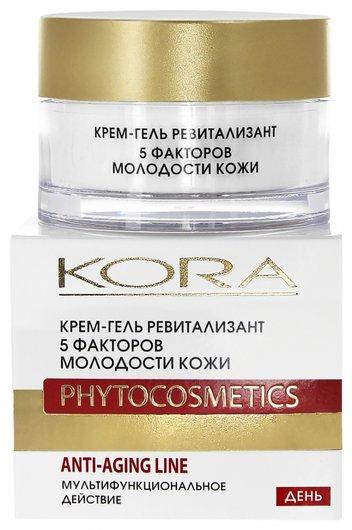 """Крем-гель ревитализант """"5 факторов молодости кожи""""  Kora"""
