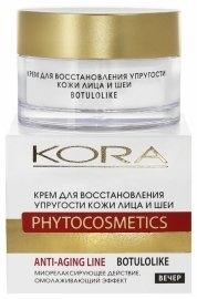 Крем для восстановления упругости кожи лица и шеи