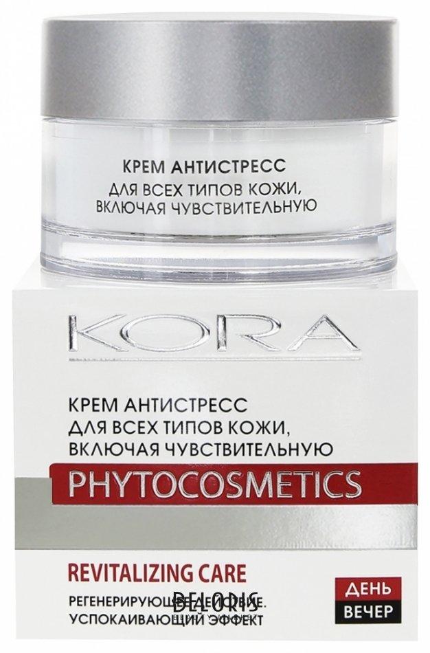 Купить Крем для лица Кора, Крем Антистресс для всех типов кожи, Россия