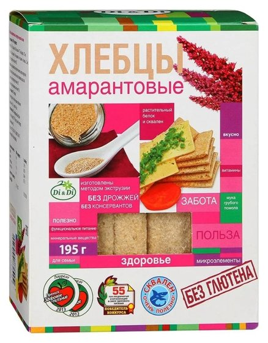 Хлебцы амарантовые  Di & Di