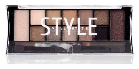 Палетка теней для век Style Palette Eyeshadow  Триумф