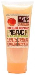 Бальзам для волос Спелый персик Organic Shop