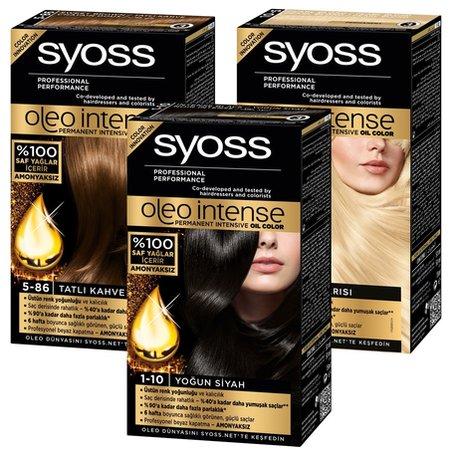 "Краска для волос ""Oleo intense""  Syoss"