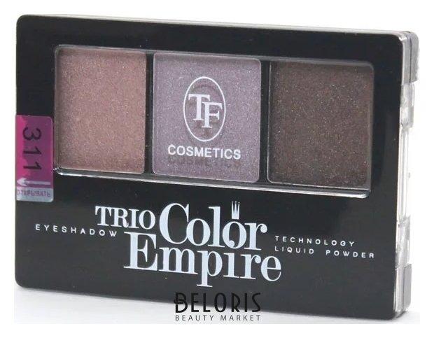 Купить Тени для век Триумф, Тени для век тройные Trio Color Empire , Китай, Тон 311 (песчаная дюна)