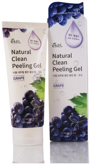 Пилинг-скатка с экстрактом винограда  Ekel