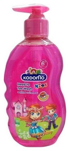 Фруктово-ягодный (с дозатором) 400 мл  Lion Kodomo
