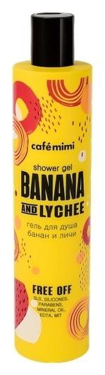 "Гель для душа ""Банан и личи""  Кафе красоты"