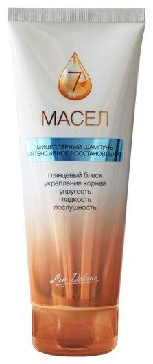 Шампунь для волос мицеллярный Интенсивное восстановление 7 масел  Liv Delano