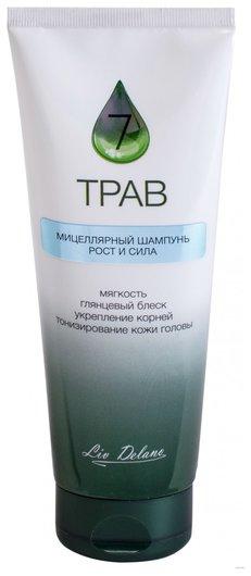 Шампунь для волос мицеллярный Рост и сила 7 трав  Liv Delano