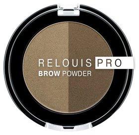 Тени для бровей Brow Powder Pro Relouis