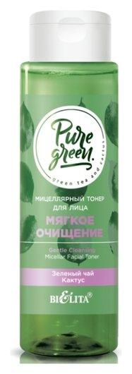 Мицеллярный тонер для лица «Мягкое очищение» Белита - Витекс pure green